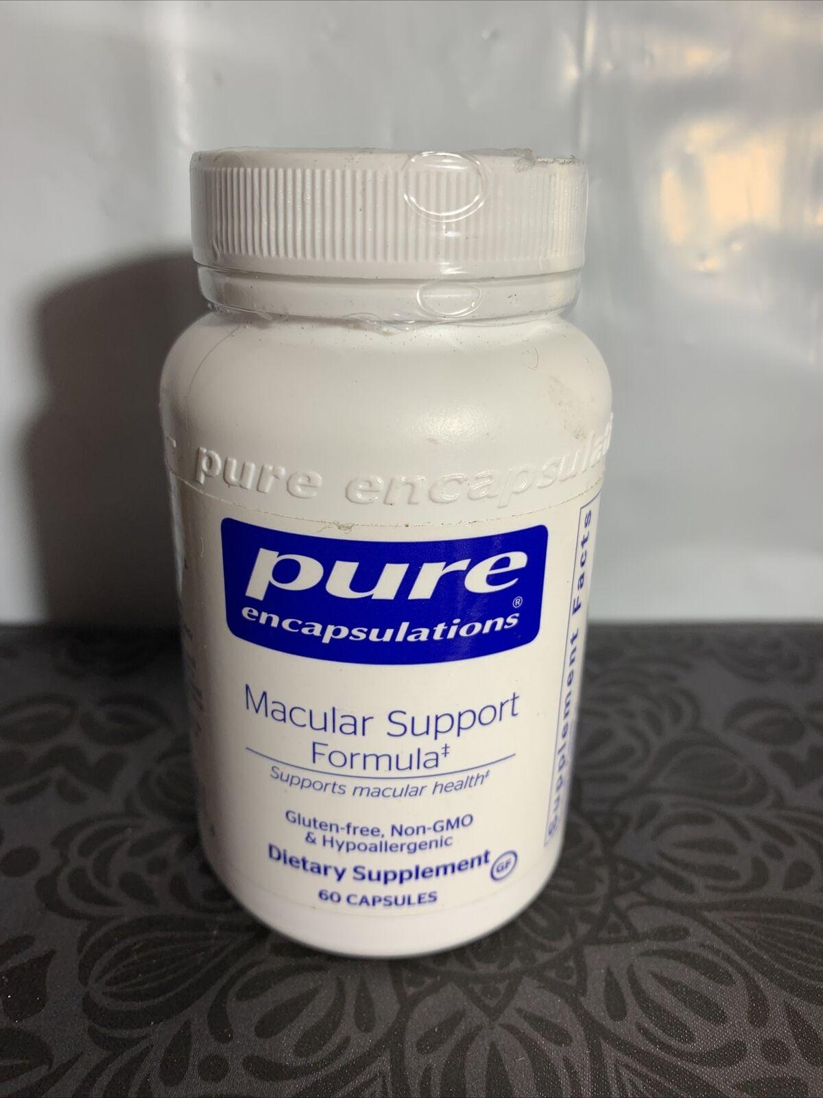 Pure Encapsulations - Macular Support Formula Hypoallergenic Supplement 60 Caps