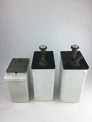 Vintage Porcelain Ice Cream Soda Fountain Topping Dispenser Lot