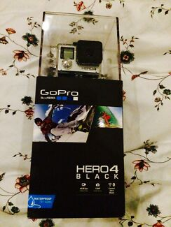 BRAND NEW GOPRO HERO 4 BLACK IN BOX West Perth Perth City Preview