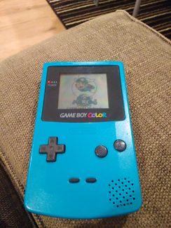 Gameboy Color with 3 Games