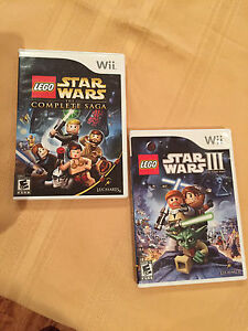 Wii Lego Star Wars The Complete Saga & Star Wars III