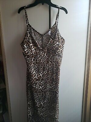 Animal With Womens (Riley & james womens dress animal print  maxi dress XL New with tags!)