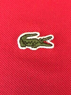 Lacoste Polo Shirt Red Size 5, Pet Free, Smoke Free Home.