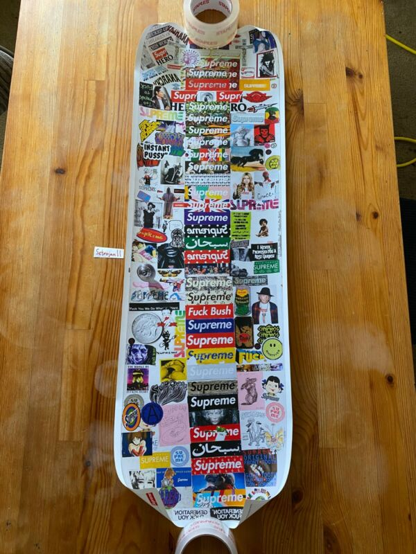 New Supreme Lafayette Store Door Poster - Authentic In Store OnlyBox Logo