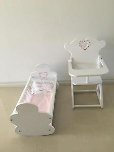 ELC Dolls High Chair and Cradle Winthrop Melville Area Preview