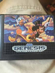 World of Illusion starring Mickey & Donald Genesis