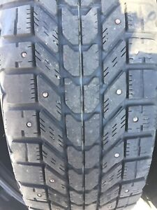 Firestone Winterforce Tires 195 65 15 on Rims