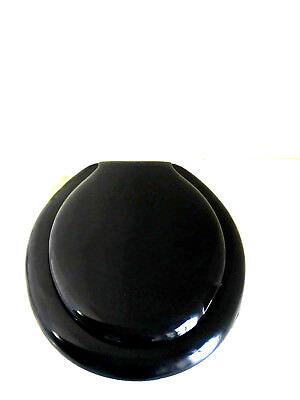 Copri water sedile copri wc in plastica universale nero pvc