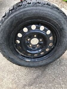 Firestone Winterforce  Tires with Rims P205 65R15
