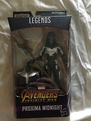 Marvel Legends Proxima Midnight, Sealed, Thanos BAF