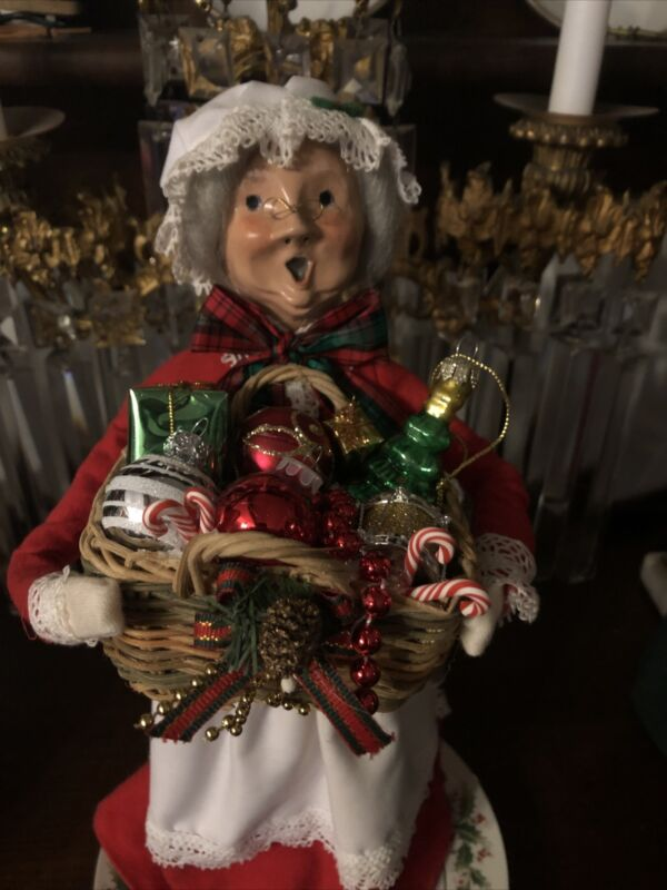 """Accessory Handmade For Byers Choice Carolers 3 1/2x3"""" Height 2 7/8 Ornaments"""