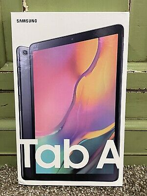 Samsung Galaxy Tab A 10.1 32 GB Wifi Tablet Black (2019) Brand New Sealed