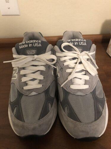 New Balance 993 Grey Men's 9 2E
