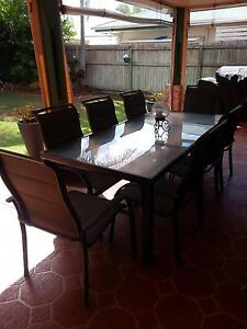 Dining setting outdoors for 8. Capalaba Brisbane South East Preview
