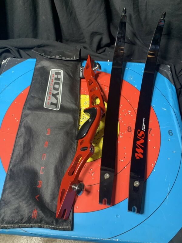 """LH 23"""" Left Hoyt Excel Riser / Win Win WNS long Limbs 68"""" Bow Olympic Recurve"""