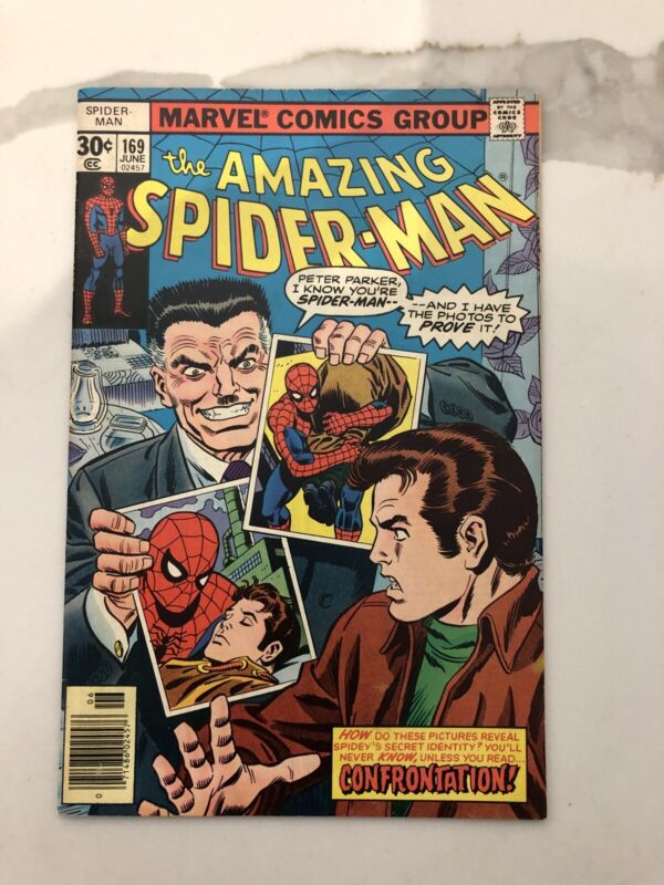 The Amazing Spider-Man #169 VF+ to NM-(Jun 1977, Marvel)