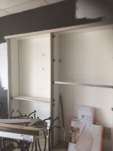 Slotwall Hooks and Shelving  lots of it!!!