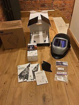 3M Speedglas 9100XXi  Welding Helmet + Large 9100 Headcover.