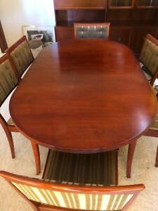 Parker eleven piece Dining Room Suite in exceptional condition