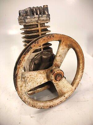 Vintage Air Compressor Cast Iron Sanborn Manufacturing Model 44