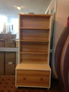 Bookcase-white whith oak color Fairfield East Fairfield Area Preview