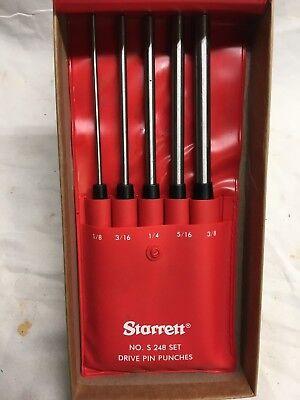 Starrett Drive Pin Punch Set S248pc