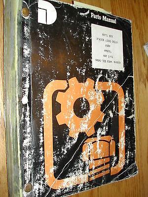 Dresser 970 Parts Manual Book Catalog Dozer Rubber Tired Guide List Pm9701 5-88