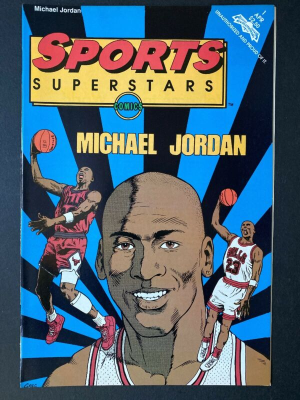 MICHAEL JORDAN Jordan Sports Superstars Comics Book Revolutionary #1 HOF 23 NM