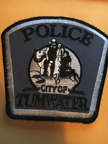 Tumwater Washington  Police patch