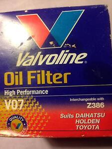 2 x Valvoline Car Oil Filter Highgate Perth City Area Preview