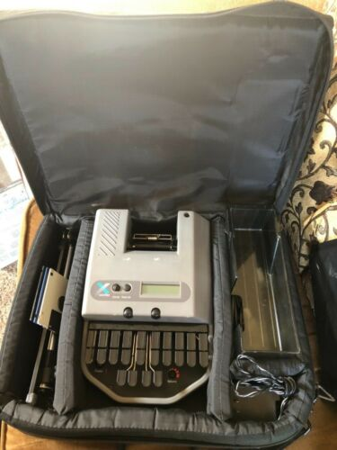 Xscribe Stenography Court  Reporter Machine  and carry case