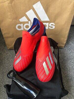 Adidas X 18+ FG Laceless Football Boots UK Size 6