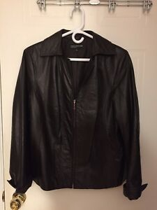 Leather Jacket (Women's / Brown)