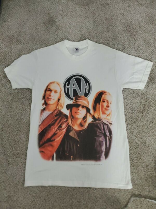 Vintage Hanson Abertane Tour T-Shirt 1998 - adult size small - RARE BAND FIND