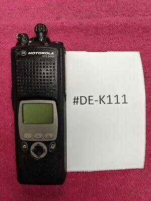 Motorola Xts5000 M2 Mii Uhf 700800mhz H18ucf9pw6an De-k111