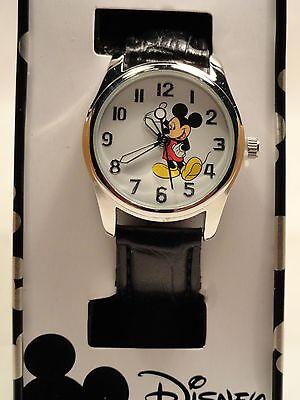 Disney mickey mouse leather band watch,  Quartz. new/ Box/ warranty