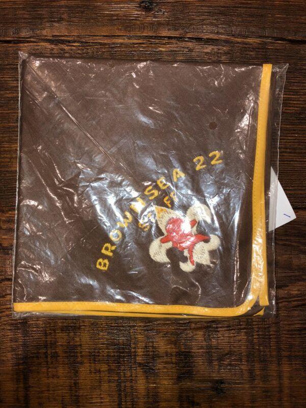 Boy Scout neckerchief.  Brownsea 22  Staff