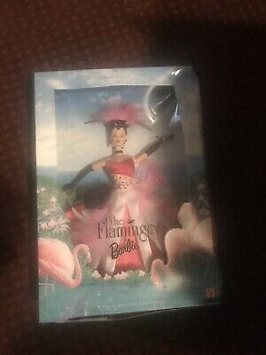 FLAMINGO BARBIE DOLL 1998 BIRDS OF BEAUTY COLLECTOR EDITION 22957 MINT NRFB