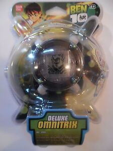 Ben 10 ten Omnitrix Deluxe Bandai boys new unopened toy Wrist Electronic rare