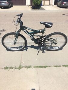 Huffy Tundra 24 Inch Dual Suspension