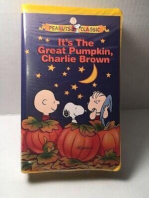IT'S THE GREAT PUMPKIN, CHARLIE BROWN Vhs Video Tape PEANUTS CLASSIC Halloween - It's Halloween Pumpkin