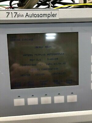 Waters Hplc Chromatography 717plus Autosampler Wat078900 Tested Great Condition