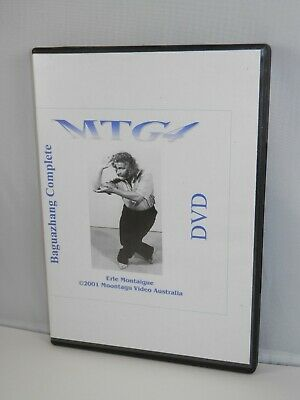 MTG 4 Baguazhang Complete DVD - Martial Arts Instruction Linear Erle Montaigue