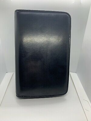 Franklin Covey Planner 6 Ring Compact Leather Zipper Binder