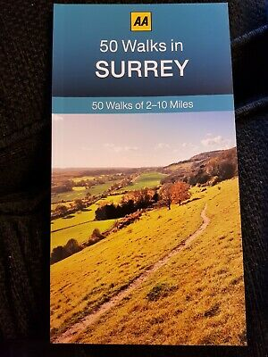 **NEW PB** AA 50 Walks in Surrey (2017) - Buy 2 Books & SAVE segunda mano  Embacar hacia Argentina