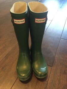 Youth hunter boots size 2 boys 3 girls