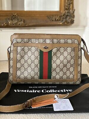 100% Verified AUTHENTIC Vintage Gucci Ophidia Accessory Collection Crossbody Bag