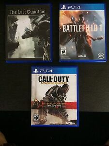 PS4 Games Amazing Condition