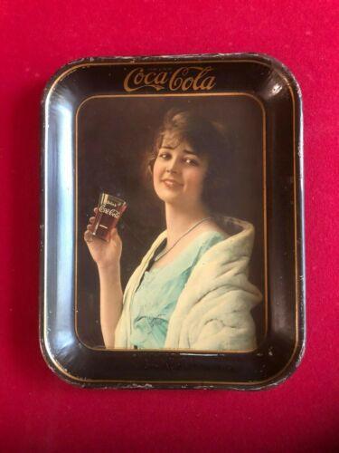 "1923, Coca-Cola, ""Flapper Girl"" Serving Tray (Scarce / Vintage)"