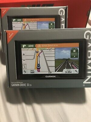 "Garmin Drive 61 EX 6"" Screen GPS Navigator with Driver Alerts 010-01679-09"